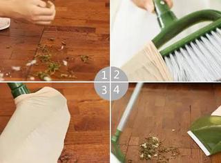 满屋子都是头发?用这几个方法清理,很实用!