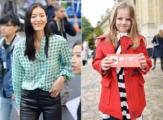巴黎时装周独家街拍 | 橘子君不仅拍到了刘雯 还拍了个小萌娃!