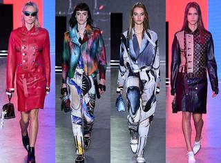 虚拟世界的二次元少女  穿着Louis Vuitton打怪兽去咯