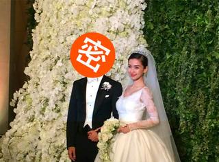 独家 | ah婚礼现场,橘子君问了黄晓明一个惊天问题!