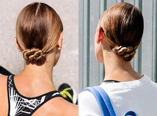 时髦健身!发型动感是首选!