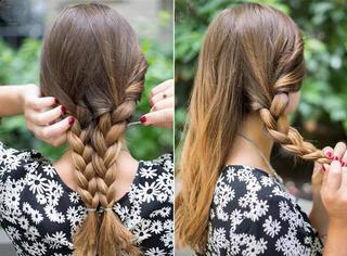 """为""""懒""""女孩准备的简单发型,简单又漂亮!"""