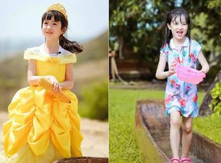 夏天能成为所有人心目中的小公主,是因为有个好爸爸啊!