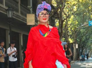 人丑要不要追时尚?上海时装周达人街拍采访!