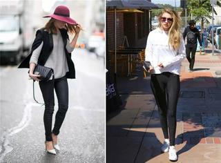 """能把""""Leggings""""穿出范,才是真时尚"""