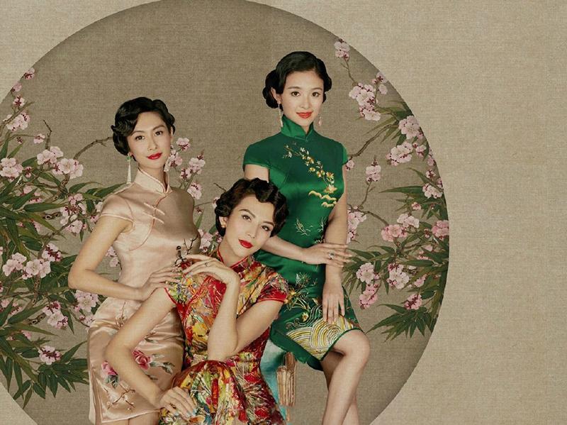 偶像来了再现老上海风,众女神旗袍装走进画里简直美哭了!