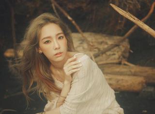 少女时代金泰妍超仙森系大片,一枚美好单纯的阳光美少女!