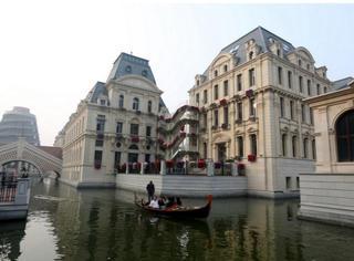 """大连花5000000000建了一座""""威尼斯水城""""!这效果你们感受下..."""