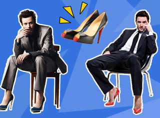 男生都穿上高跟鞋啦!你不浪谁浪!