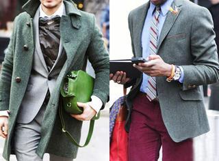 MEN | 史上最全型男西装颜色搭配