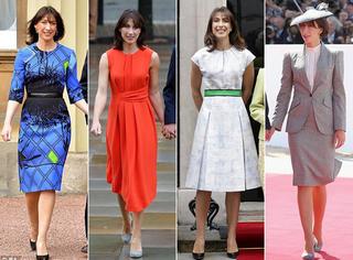 打败霉霉登顶最会穿女性  英国首相夫人的时髦野心可不止这些
