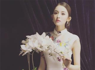 赵丽颖娜扎也敌不过张曼玉,旗袍是检验优雅的唯一标准