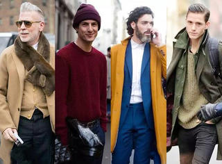 MEN | 男人秋冬必备的5大流行色