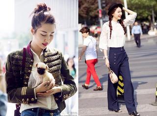 李晖:这个时髦的北京大妞,就这样玩出了街拍!