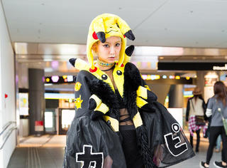 闪瞎眼的东京时装周街拍,你能接受多少!