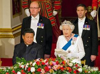 """习大大去英国,女王大人都开始说""""中国话""""了!"""