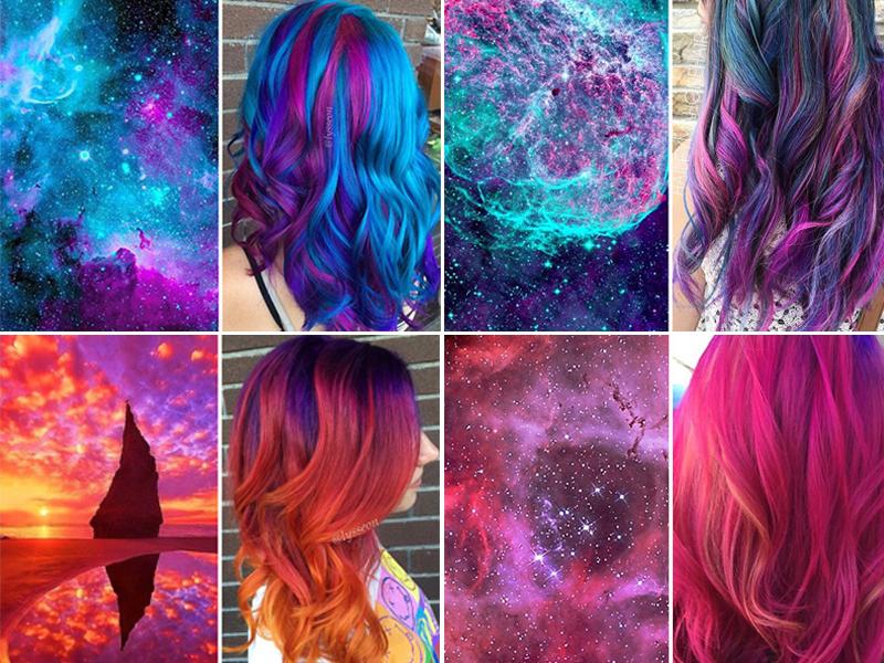 超级美 | 来自银河系的发色!