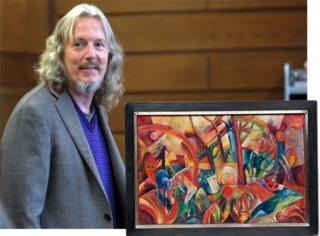 他因造假入狱,却也因此成为炙手可热的艺术大师