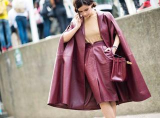 据说,今年秋冬最应该穿的是这个颜色!
