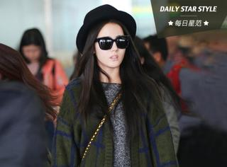每日星范 | 迪丽热巴 变身韩系美少女