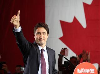 安利一枚加拿大新总理,帅得让人想跟他生猴子