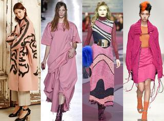 你是会穿粉色的女人吗?跟40位街拍女神学配色,粉酷小公举就是你!