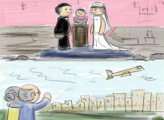 刷爆外国朋友圈的漫画:人生是什么?