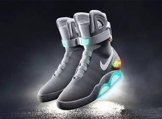 耐克黑科技:会自动系鞋带的「回到未来」运动鞋正式发布了!