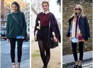 女人买了毛衣不会穿丨一看就像是土鳖