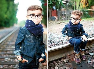 以后生了儿子或女儿就这样打扮,你喜欢吗?!