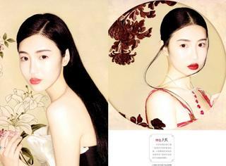 美人如初|张辛苑拍摄美妆大片再现中国古典风