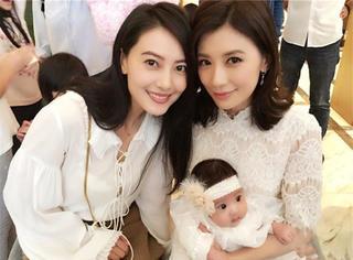 贾静雯为女儿办生日趴邀请众星  高圆圆小S欧弟确定不是来抢镜的?