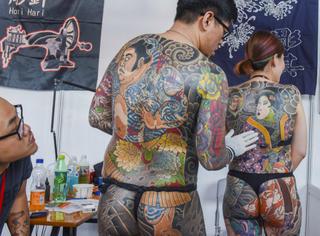 全世界的纹身狂人在中国办了一场秀,但看后可能你更不敢纹身了...