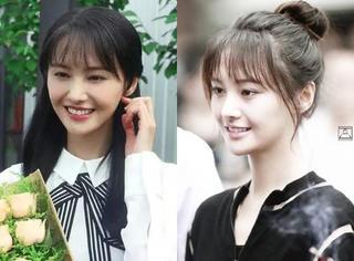 郑爽分手整容后越变越甜美,发型也越变越美!!