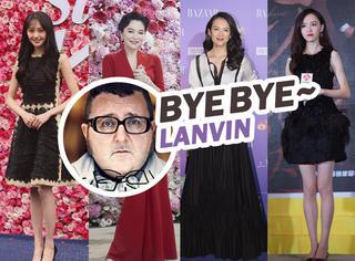 Lanvin设计师辞职 | 30条让女明星最美的裙子,竟都是这个小胖子设计的?