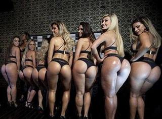 巴西美臀大赛来袭!臀围107cm的大屁股你见过吗?