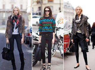 一条黑色裤子 满足你秋冬所有穿搭