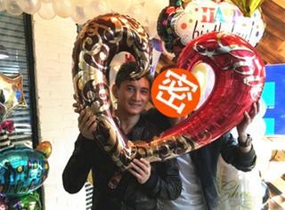 """吴奇隆庆45岁生日""""真爱""""现身 ! 然而却并不是刘诗诗……"""