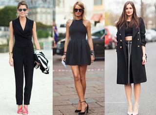 一身黑,究竟应该怎么穿?!