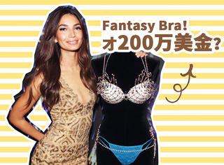 维秘20周年的Fantasy Bra居然这么便宜,才200万美金?!