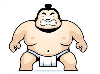 见过胖的但没见过又胖又萌的!看了这组图你就知道日本相扑手有多萌