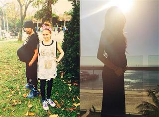 杨幂、昆凌和Sarah Stage告诉你:怀孕也可以只长肚子不长肥肉!