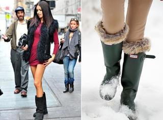 谁说直男不喜欢就不能穿,雪地靴也能搭出显瘦时髦范!