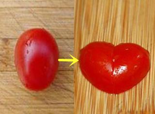橘子实验室 | 柿子大变身,心形番茄帮你造浪漫!
