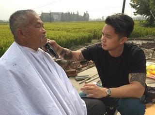 他在纽约用剪刀为无数流浪汉找回了尊严,这次他终于来到了中国!