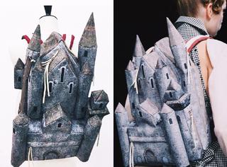 城堡or碉堡?背这样的书包是去炸学校吧?