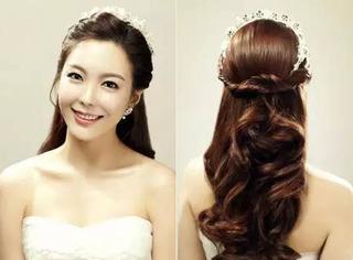 婚礼上,除了这8款发型,其余都是将就!