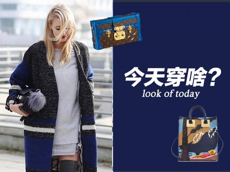 今天穿啥 | 寒冬穿上什么既保暖又时髦?呢子大衣!
