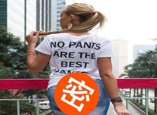 纳尼?! 半裸美女真空彩绘,香港街头竟无人识破!