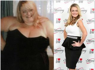 """曾经超胖的她拒绝缩胃,最后靠自己的努力当选""""年度苗条女性""""!"""